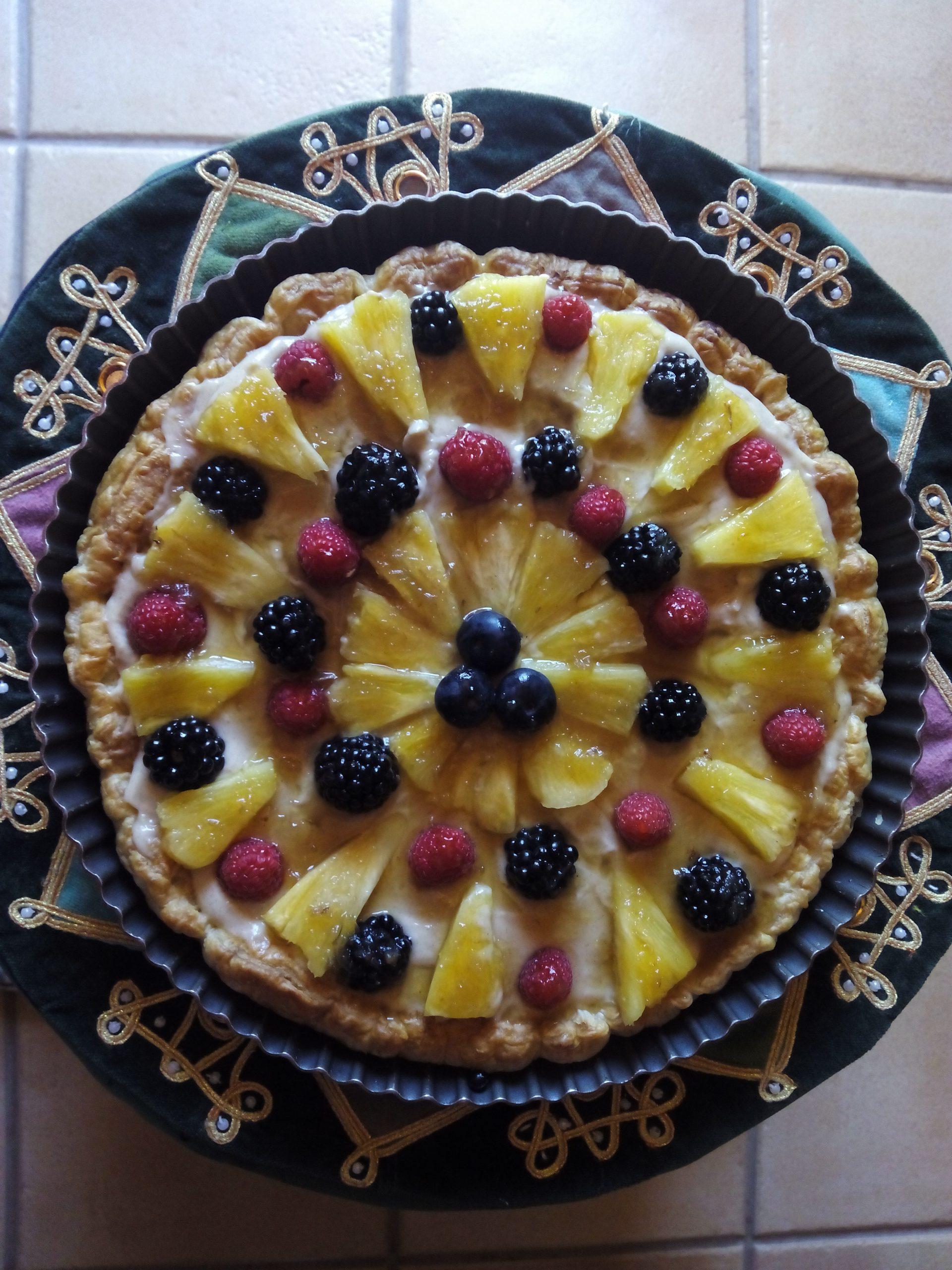 Pastís de fruites